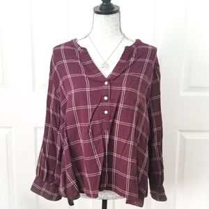 Old Navy • Slouchy Cozy Flannel